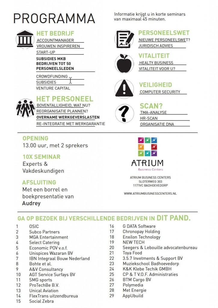 NewBusiness_30-10-15_Atrium_programma